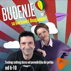 Budjenje sa Goricom i Draganom 25.03.2016.