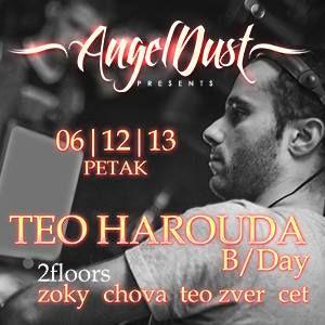 Teo Harouda - B-Day Party @ Posh Bar, 06.12.2013.