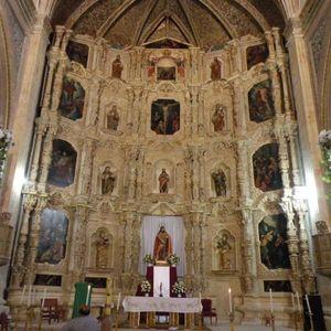 Templo de San Juan Bautista. Muros que cuentan historias