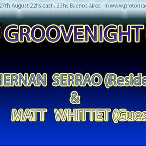 08-27-2012 GROOVENIGHT from Buenos Aires By HERNAN SERRAO