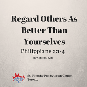 Regard Others As Better Than Yourself