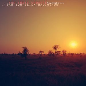 The indie update's i saw you blink radioshow / november