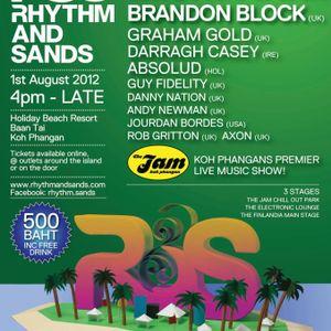 Graham Gold Live at Rhythm & Sands August 1st 2012