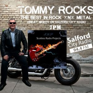 Scottie on Tommy Rocks Salford City Radio 94.4 FM March 18, 16