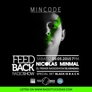 NIcolas Minmal @The Feedback Radio Show (Special Black is B A C K )