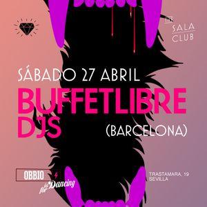 27.04.13 - BUFFETLIBRE DJS & OBBIO CLUB