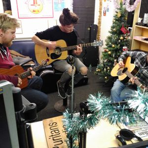 The Strummer Room Project Presents Radio Show with Matt Edwards, Jack Little & Sam Martin LIVE