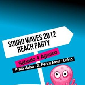 DJ Pitts @ Sound Waves Beach Party (04-08-2012)