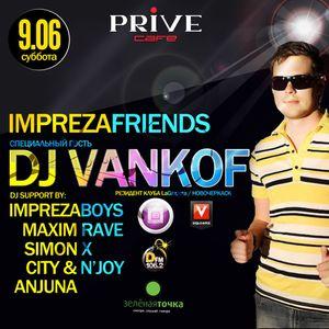 Vankof - Live @ Prive Cafe Stavropol' 9.6.2012