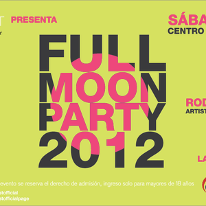 CRISTIAN GUZMAN @ FULL MOON PARTY, LOS ANGELES 09.06.2012