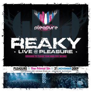 Reaky - Live @ Pleasure - 21.11.2009 - Maribor, Slovenia
