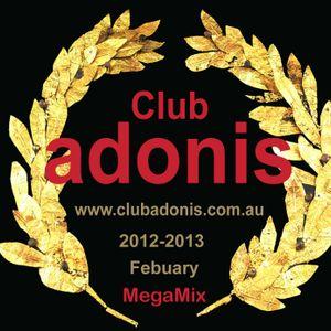 CLUB ADONIS 2012-2013 Greatest songs Megamix 240213