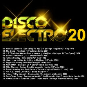 DISCO ELECTRO 20 - Various Original Artists [electro synth disco classics] 70s & 80s
