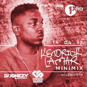 DJ Jonezy - Kendrick Lamar Mini Mix - BBC Radio 1Xtra April 2017