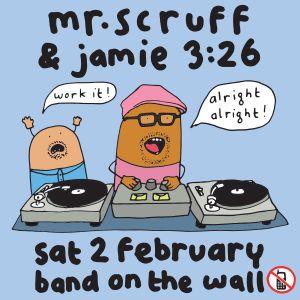 Mr. Scruff & Jamie 3:26 - Keep It Unreal, Manchester, February 2019