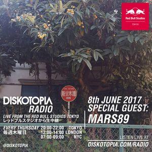 Diskotopia Radio 8th June 2017 w/ Mars89