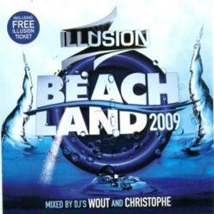 VA_-_Illusion_Beach_Land_2009_Cd1_Mixed_By_Dj_Wout