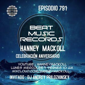 HANNEY MACKOLL PRES CELEBRACION ANIVERSARIO BEAT MUSIC RECORDS EP791 DJ ANDREW PRYLAM