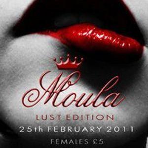 DJ Professor X Live @ 'Moula', Nono8 Bar, Derby UK. 28/02/2011