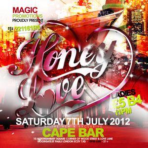HoneyLove-Sat7thJuly@CapeBar(MoorgateEC2V7JQ)-07939296977-pin:221161d8