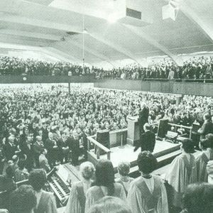 Sunday Morning Service at the Highland Park Baptist Church in Chattanooga from 1979