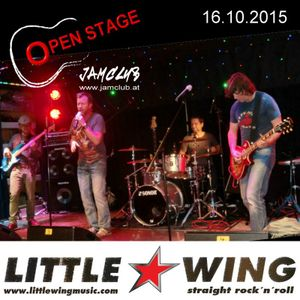 LITTLE WING (Wels) - Live OPEN STAGE Jam-Club 16.10.2015