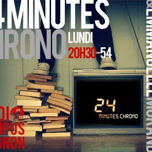 24 minutes chrono - Radio campus Avignon - 01/03/12