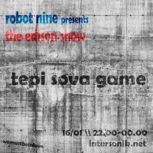 The Edison Show / tepi sova game pt. 01