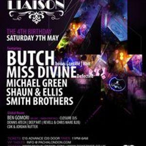 Ben Gomori - live at Liaison 4th Birthday at Pacha London - 7th May 2011