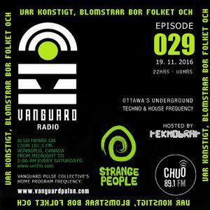 VANGUARD RADIO Episode 029 with TEKNOBRAT - 2016-11-19th CHUO 89.1 FM Ottawa, CANADA