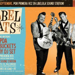 Ruta madre entrevista a Los Rebel Cats el día 07 09 2011 por Radio Faro 90.1 fm!!