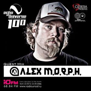 "CERERA pres. Radio-Show ""Echo of The Universe"" 100  Guest mix by Alex M.O.R.P.H."