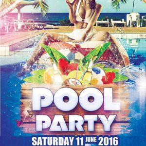 DJ.SA3D & Dj kapo & dj ala'a .SUMMER POOL PARTY live mix. 11 june 2016