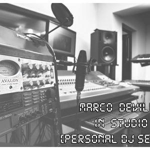 Marco DeVilla - In Studio! (Personal DJ Set Mix)