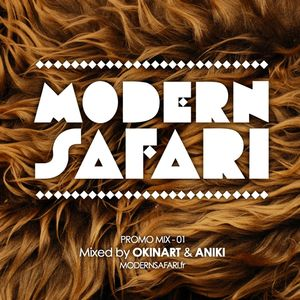 PROMO MIX - 01 • MODERN SAFARI • LA JAVA 22 MAI