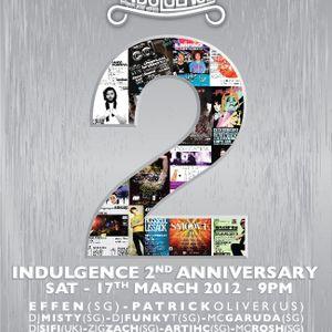 Artihc - Indulgence 2nd Anniversary, TheMixingRoom, Avalon 17.03.2012