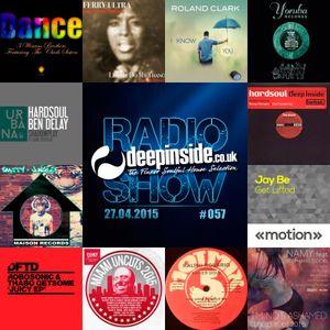 DEEPINSIDE RADIO SHOW 057 (Hardsoul Artists of the week)