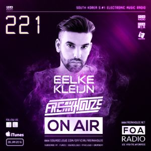Freakhouze On Air 221 Mix by ● Eelke Kleijn