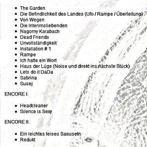 Einstürzende Neubauten - Live am 23.10.2010 in Berlin