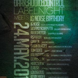 IG NOISE - Dark Audio Label Night (24 05 14) E - Feld Cologne (GER)