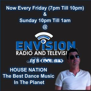Dj B Cool (UK) In The MIx For Envison Radio @ 20-01-2013
