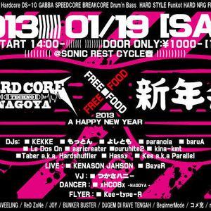2013.1.19 Nagoya Hardcore 2013 new year party