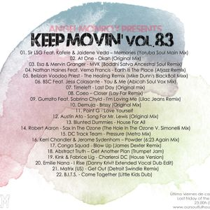 Angel Monroy Presents Keep Movin' 83
