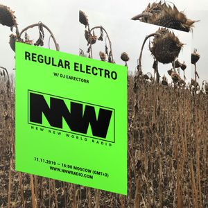 Regular Electro w/ DJ Earectorr - 11th November 2019