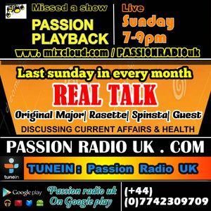 """REAL TALK"" radio show HOST Major, Rasette, Spinsta & J.P (Discussing child abesity)"