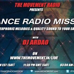 Dj ArDao - Episode 170 Of Trance Radio Mission (Letter To Ishani)