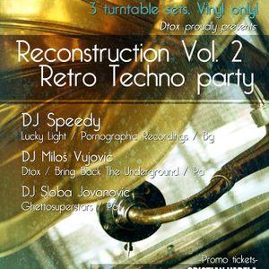 Milos Vujovic@Dtox Reconstruction Vol. II 16.3.2012