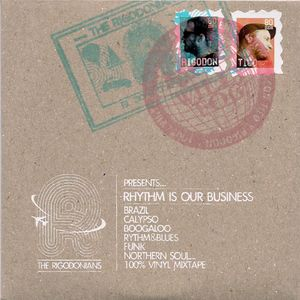 """""""Rhythm is Our Business"""" - The Rigodonians (2012)."""