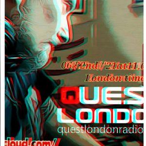 "Andrea Barbiera aka LUCIPH3R DJ fo0r techno tuesday 06/22th/""21 Quest London Radio"
