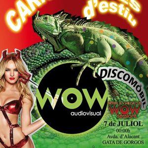 WOW audiovisual   BETRIU Dj   Carnestoltes d´estiu 2012 a Gata   WOW sessions